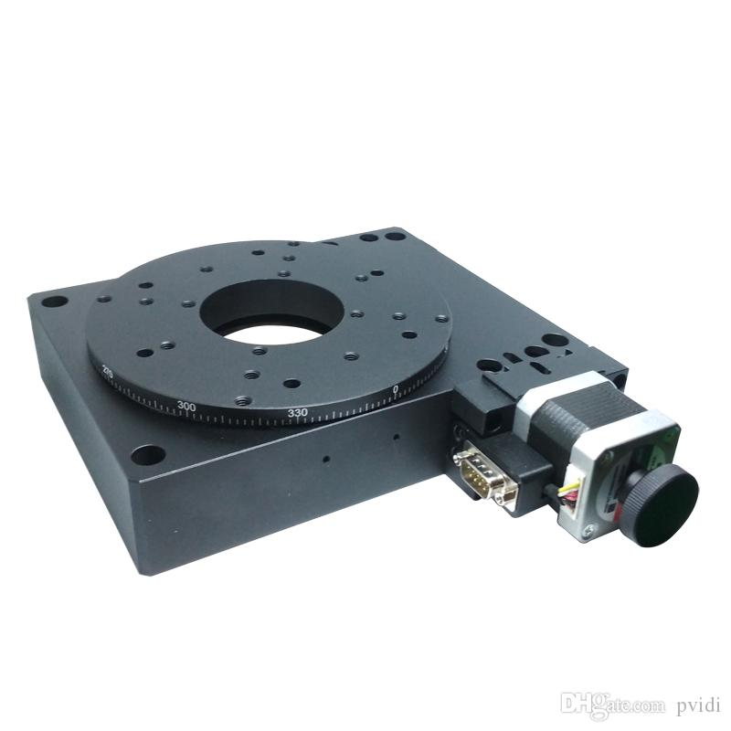 PX110-150 Electric Rotating Machine, Electric Rotating Platform, Motorized Rotation Stage, diameter: 150mm