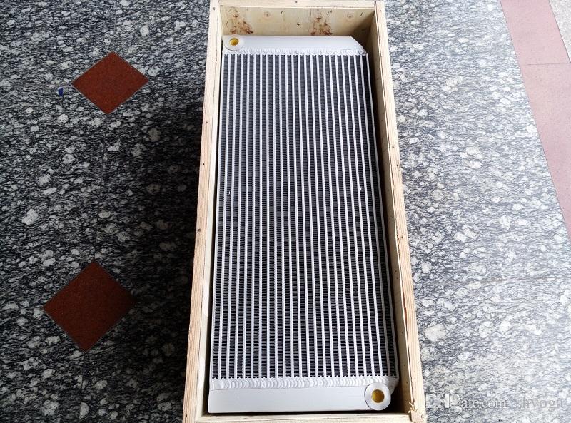 OEM 2202815603 tubo compressore d'aria vite dell'aria (2202-8156-03) refrigerante trasporto libero e nucleo radiatore dell'olio shell