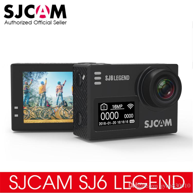 "Original SJCAM SJ6 LEGEND 4K 24fps Ultra HD Notavek 96660 Waterproof Action Camera 2.0"" Touch Screen Remote Sports DV"