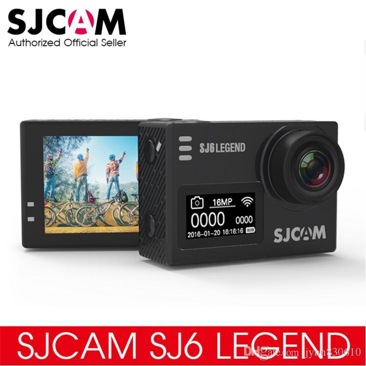 """오리지널 SJCAM SJ6 LEGEND 4K 24fps 울트라 HD Notavek 96660 방수 액션 카메라 2.0 """"터치 스크린 원격 스포츠 DV"""