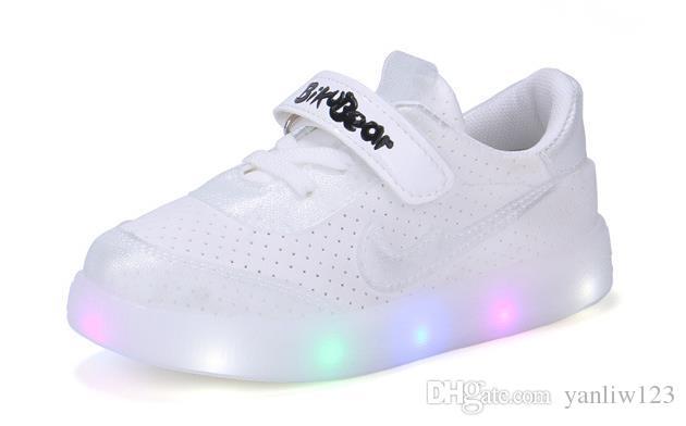 Glühende Turnschuhe Led Kinder Beleuchtete Flügel Licht Kleinkind Großhandel Mädchen Schuhe Europäische Jungen fg7byY6