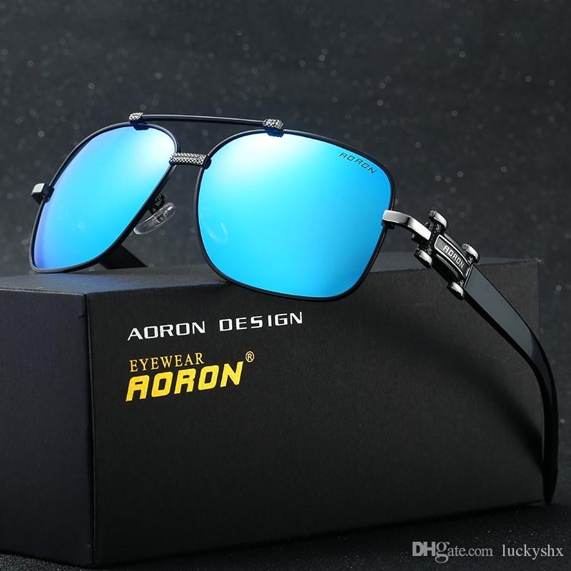 Nouveau Designer Original Box Hommes lunettes de soleil polarisées Femmes Lunettes de soleil de luxe UV400 Lunettes Loisirs Lunettes A375