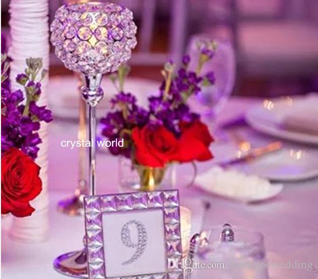 çiçek aranjmanı için dekoratif çiçek vazo kristal metal vazo