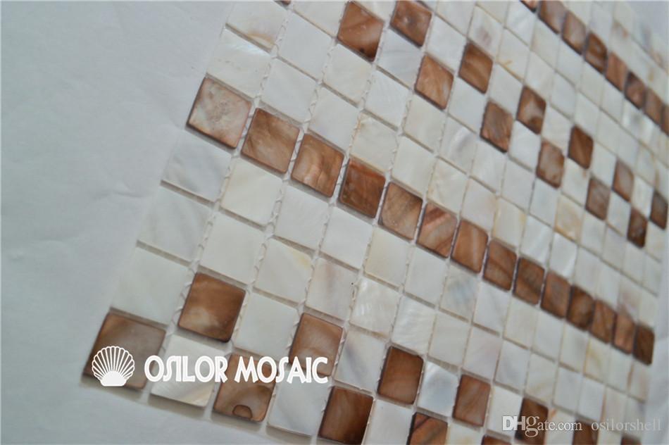 Acquista guscio dacqua dolce cinese madreperla tessere di mosaico