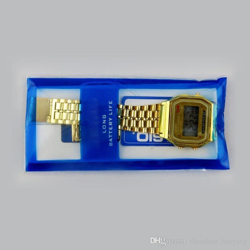 Free shipping F-91W LED watches Fashion Ultra-thin digital LED Wrist Watches F91W Men Women Sport watch