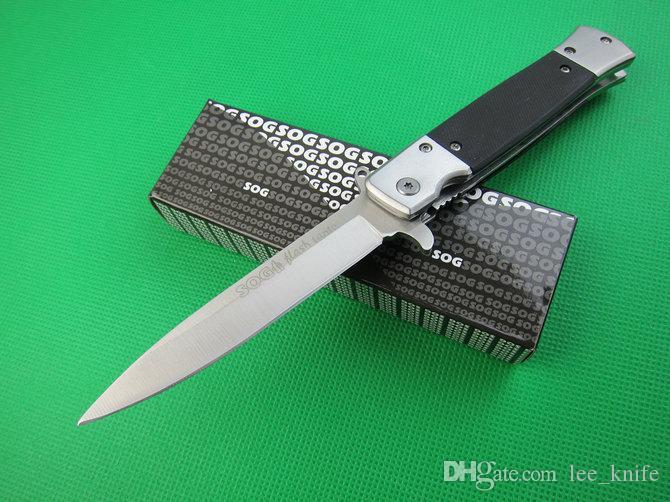 coltello caldo SOG.KS931A (versione in pietra e acciaio) di campeggio di caccia selvaggia regalo gratuito