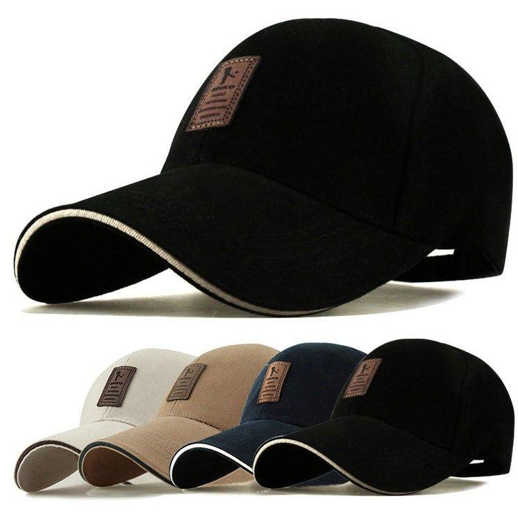 EDIKO Cotton Baseball Cap Sports Golf Snapback Outdoor Simple Solid Hats Peaked Cap For Men Bone Gorras Casquette Chapeu wholesale