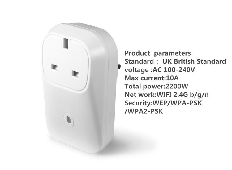 Us/Usa Standard Smart Home Automation Wifi Outlet Usa Remote Wifi ...