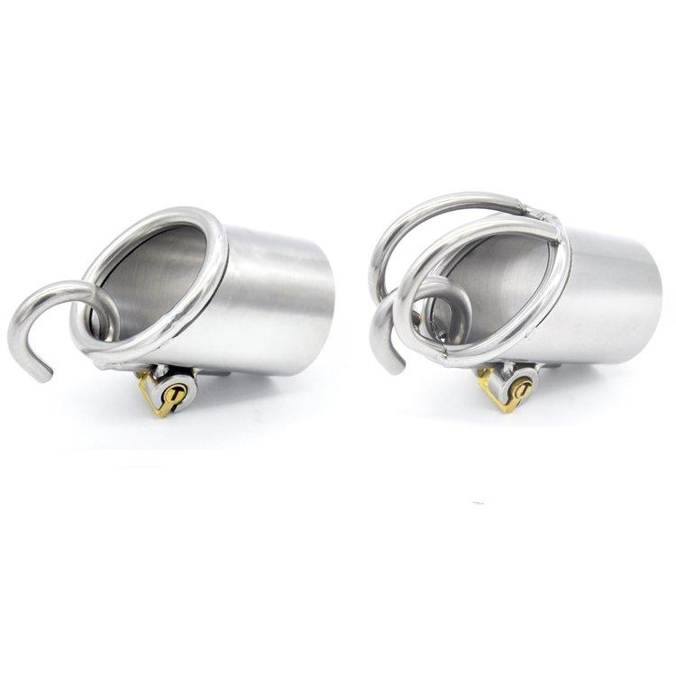 Male Chastity Device The Tube only for PA600 & PA800 stainless steel Male Device Cock Cage with Stealth lock chastity cage Sex Toy