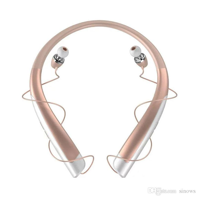 HBS 1100 Tone Platinum HBS-1100 Wireless Stereo Headset Sport Neckband Kopfhörer Unterstützung NFC Bluetooth HIFI-Kopfhörer für iphone 7 6s plus