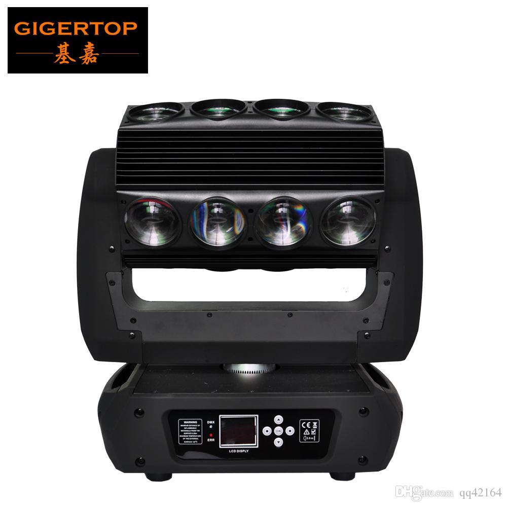 gigertop TP-L653 des neuen Entwurfs Mirage Led bewegliches Hauptlicht 16 * 25W RGBW 4IN1 3 Grad Abstrahlwinkel DMX 18/30 / 82CH Led Spinne Licht