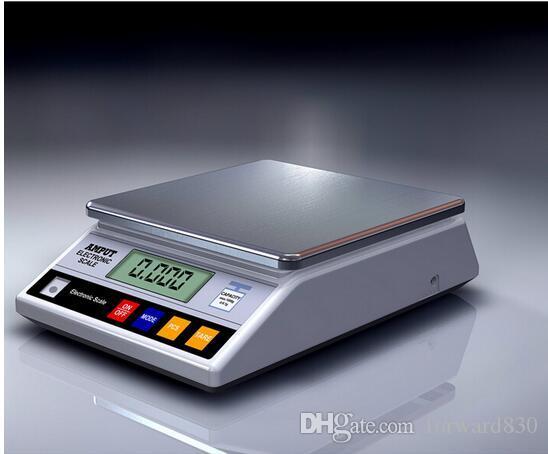 7.5kg x 0.1gデジタル精密電子実験室のバランス産業計量スケールバランスw /数値