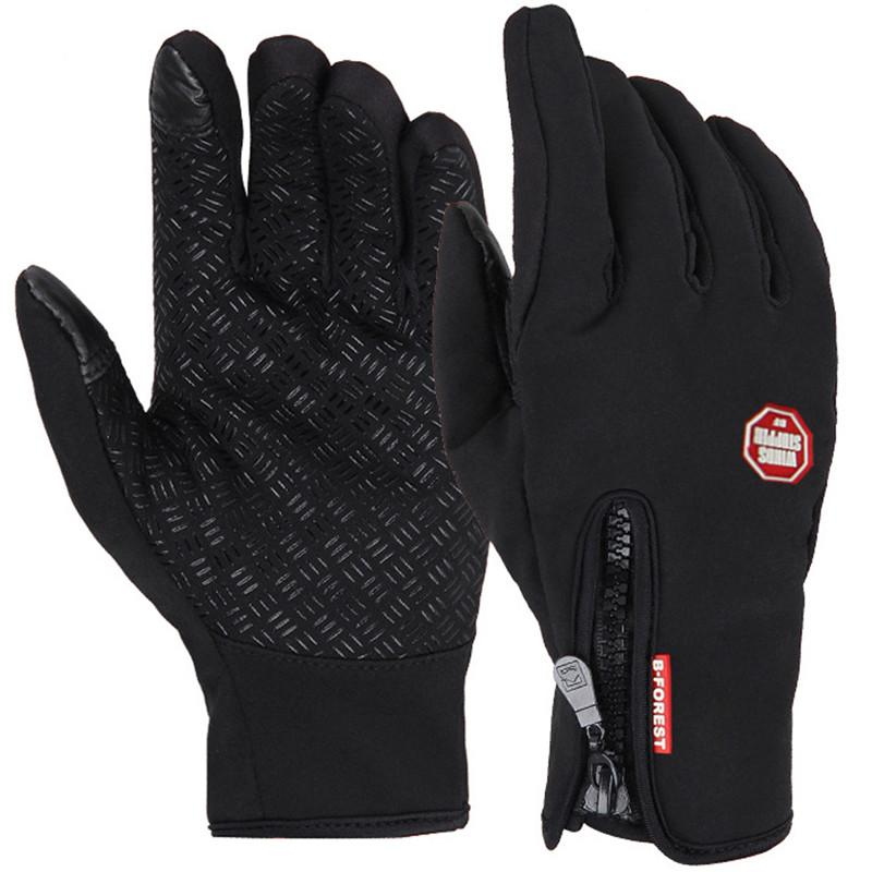 Windstopper Skiing Touch Screen Glove Cycling Gloves Motorcycle Racing Gloves