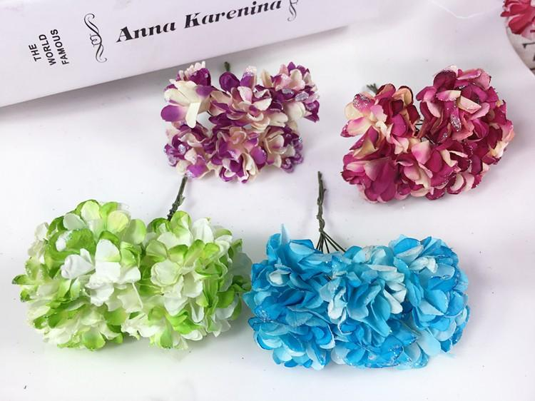 Artificial Paper Bouquet flower for Wedding Decor Candy Box Flowers Accessories for Table Centerpieces 144pcspack (10)