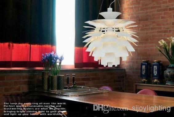 Heisser Verkauf 50CM Louis Poulsen PH Artischocken Lampe Designe Dnemark Moderne Aufhebung Hngende Helle Leuchter