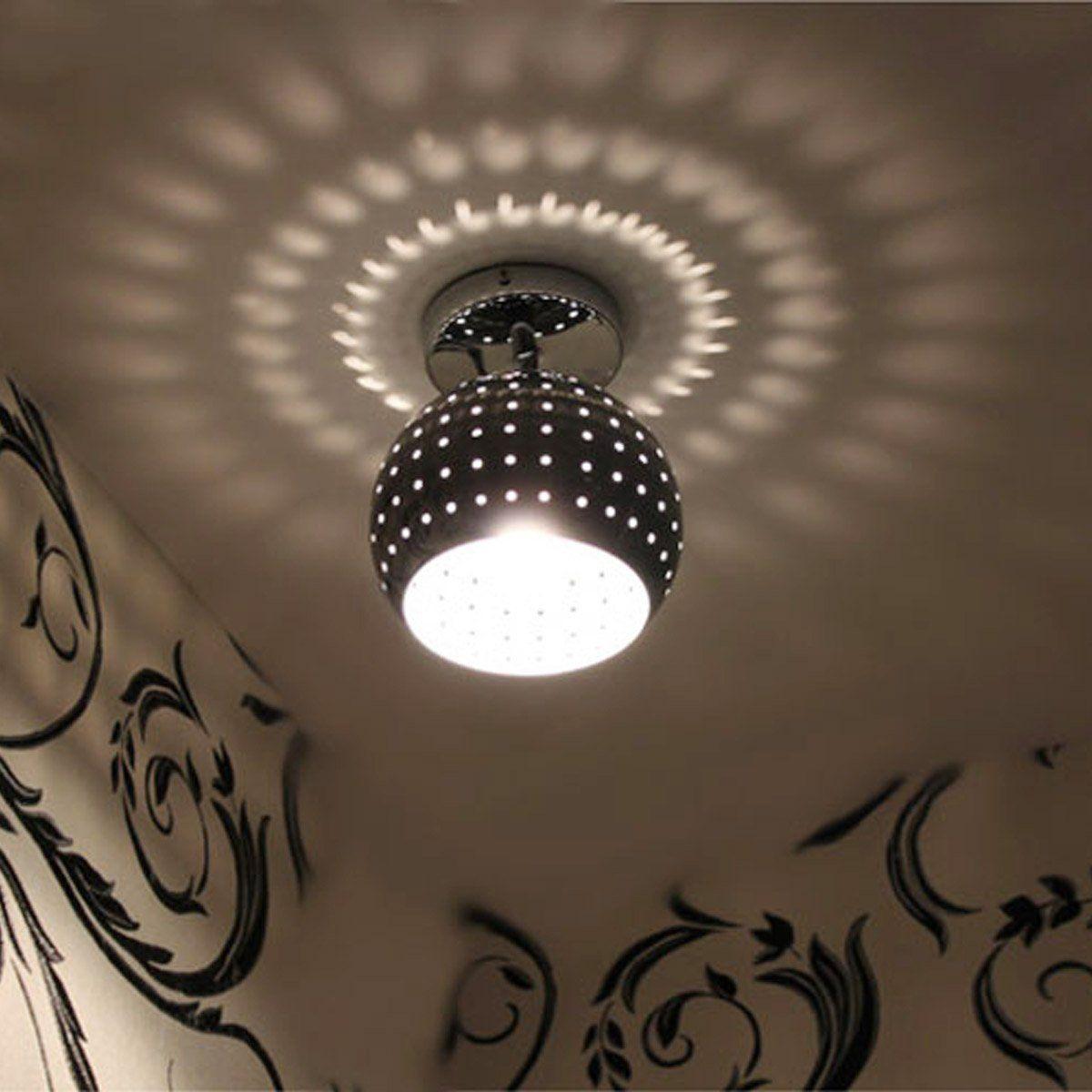 3w Modern Led Ceiling Light With Scattering Globe Light Design Shadow Effect Ceiling Light Fixture Flush Mount Unique Pendant Lighting Decorative