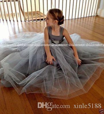 2015 Primeiro Comunhão Vestidos Pequeno Girl Pageant Vestidos Daminha de Casamento