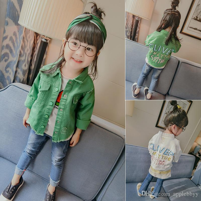 In the spring and autumn wear 2017 new girls coat baby s casual jacket children cardigan coat