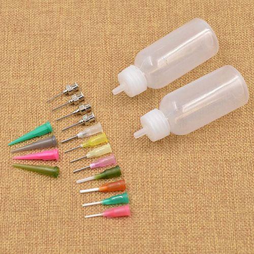 Wholesale- Fashion Henna Kit Applicator Bottle Tattoo Body Art Nozzle Drawing Making Tool Set