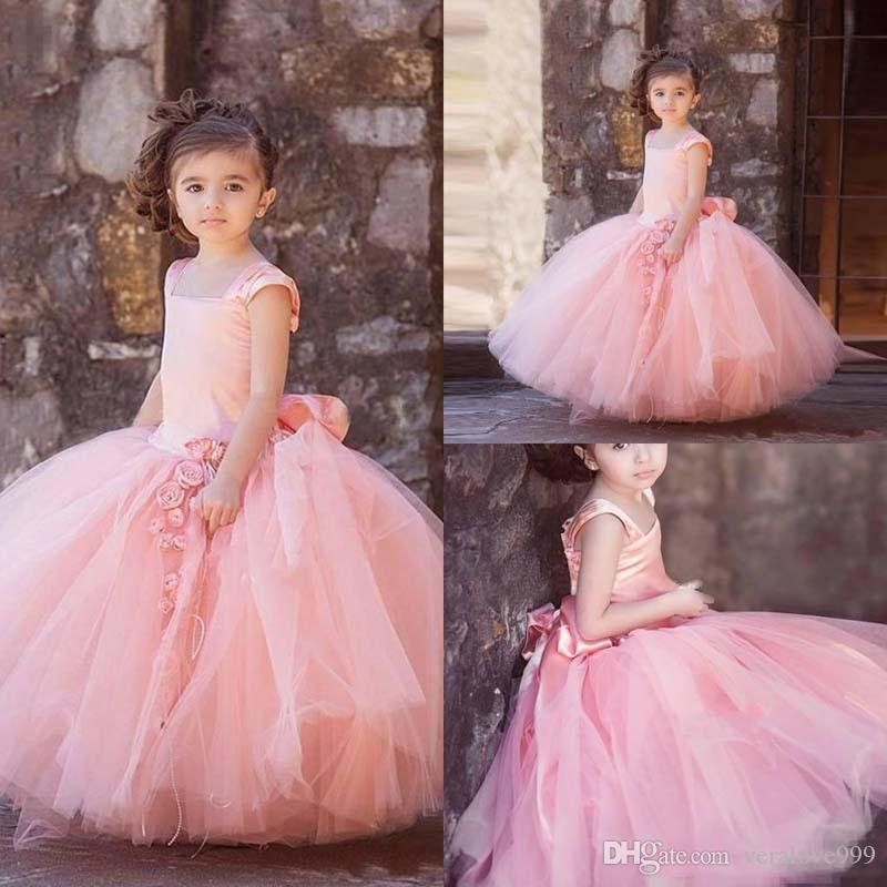 Puffy Gowns for Girls
