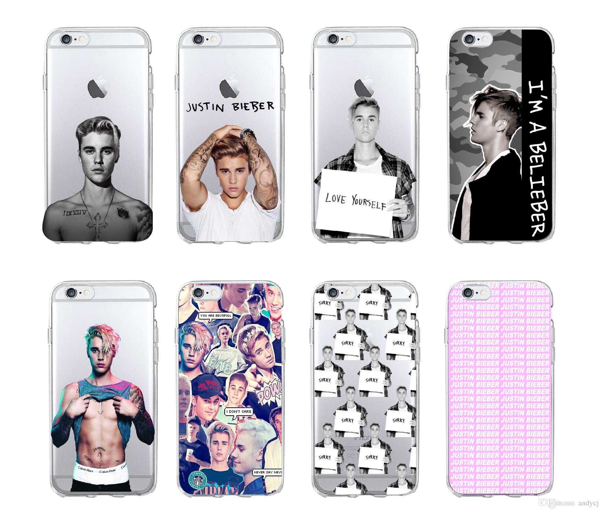 Justin Bieber Purpose Super Star Soft Silicon Phone Cases Cover for IPhone 6 6S 7 8 Plus 5S SE X XR Xs Max