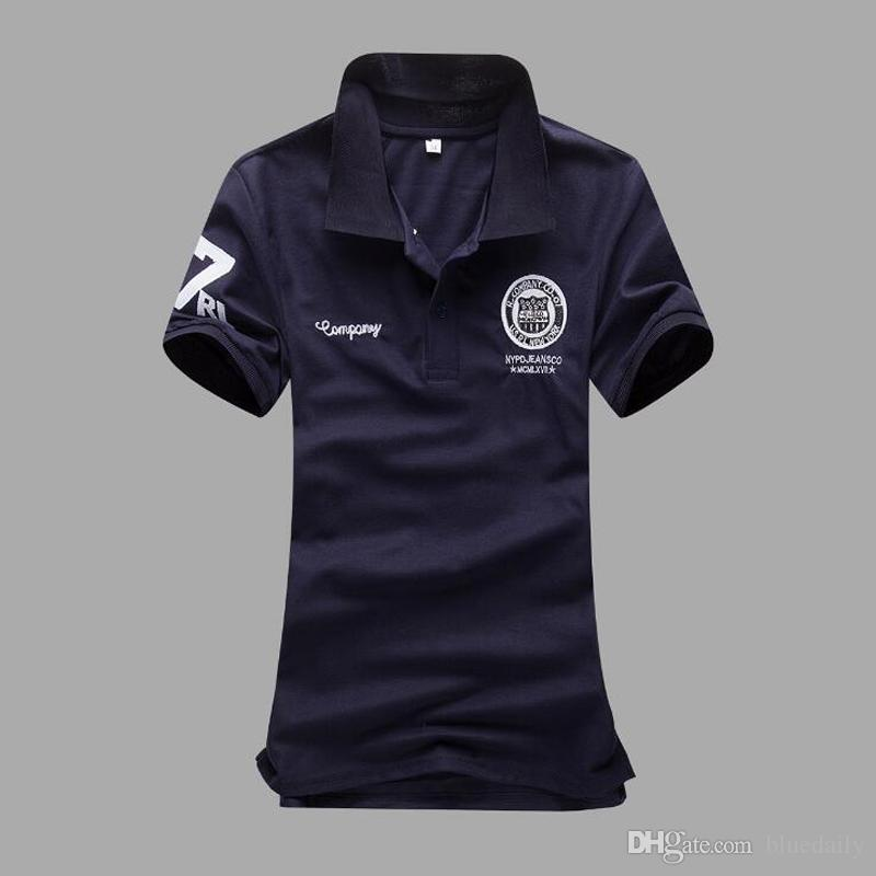 Men Lapel Casual Polo Shirts Tops Short Sleeve Tees Business Casual Solid Plus Size Tee Shirt Plus size