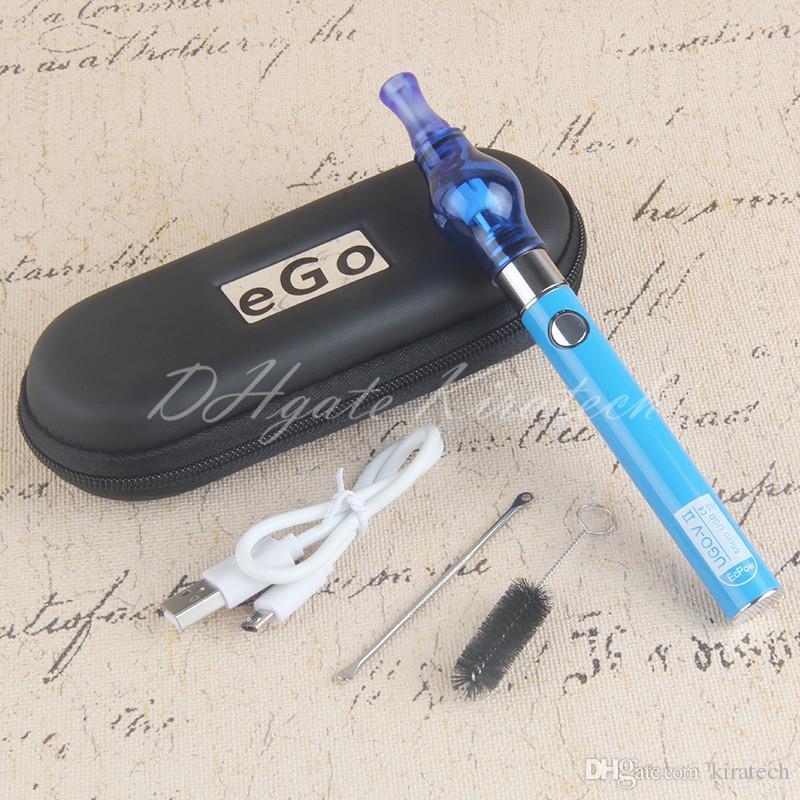 Wax Vaporizer Pen 510 Globe Glass Atomizer Vape Starter Kit Electric Cigarette Waxing Heating Coil Dry Herb Ecig Vaping Travel Case Package