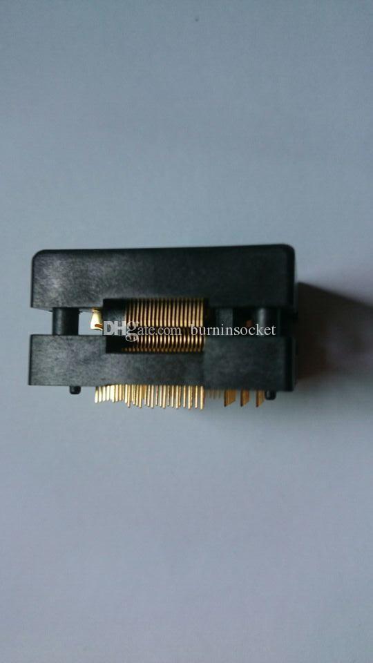 Enplas OTQ-80-0.5-02 QFP80 LQFP80 TQFP80 IC Test Socket Burn-in Socket