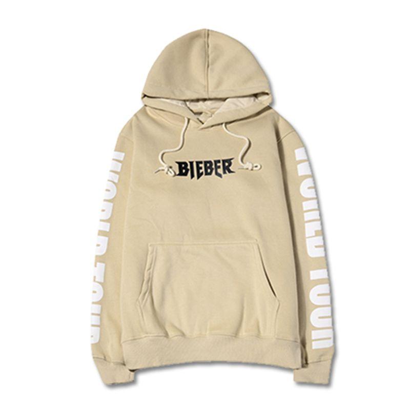 Gros-vêtements de haute qualité fraîche 2016 hip hop streetwear homme Sweat à capuche sweat à capuche pour homme But taille hoodies Khaki S-2XL Visite