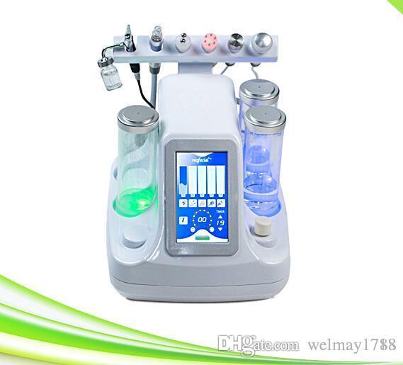 6 en 1 agua máquina de cuidado de la piel dermabrasion diamante dermatación de piel de diamante