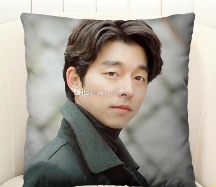 korea drama Goblin Guardian: The Lonely and Great God boyfriend Gong Yoo Square Pillows Customized gifts