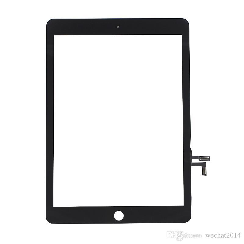 50pcsのタッチスクリーンのガラスパネルのデジタイザの交換黒と白の無料のDHL
