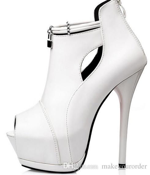 wholesaler free shipping factory price hot seller sexy office lady peep toe platform high heel women lady dress shoe065