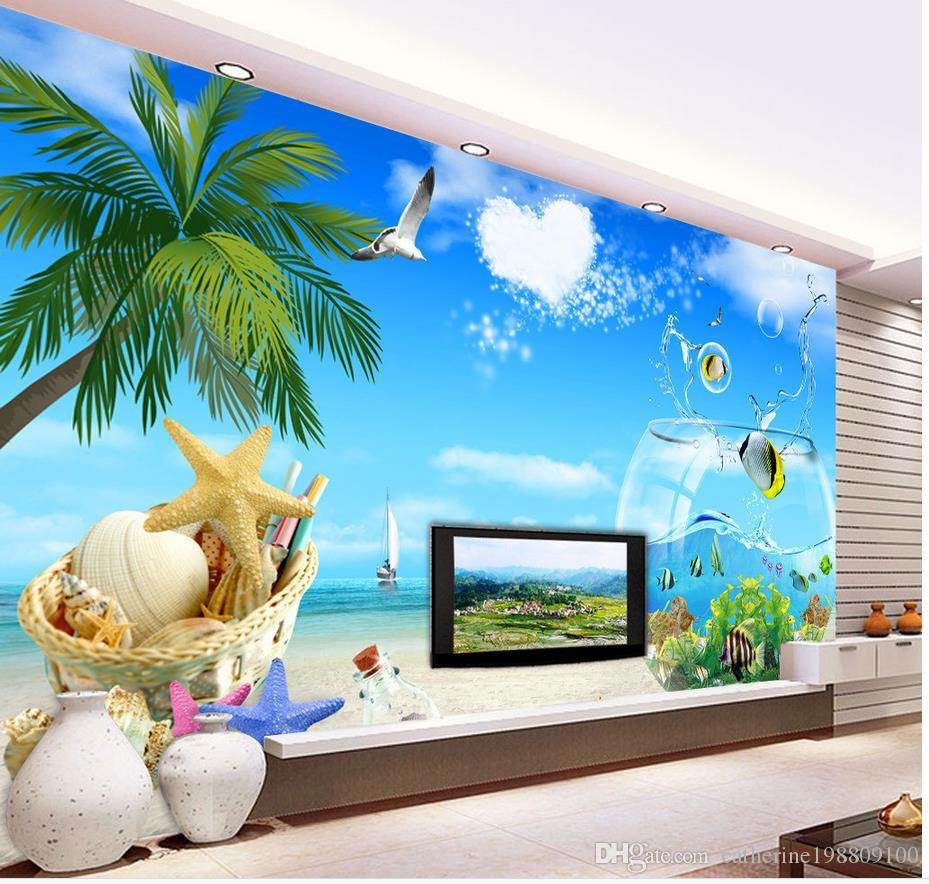 Ocean Wallpaper For Bedroom Ocean View Of The Sea View Modern Wallpaper For Living Room Modern