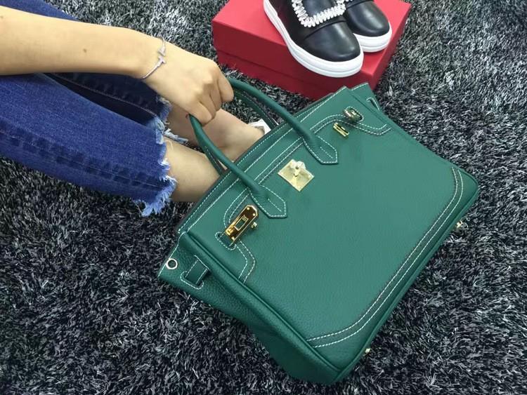 2016 Luxury H Handbag Women\`s Litchi Cowhide Messenger Bag Genuine Leather Famous Designer Shoulder Crossbody Totes Ladies Bolsa (15)