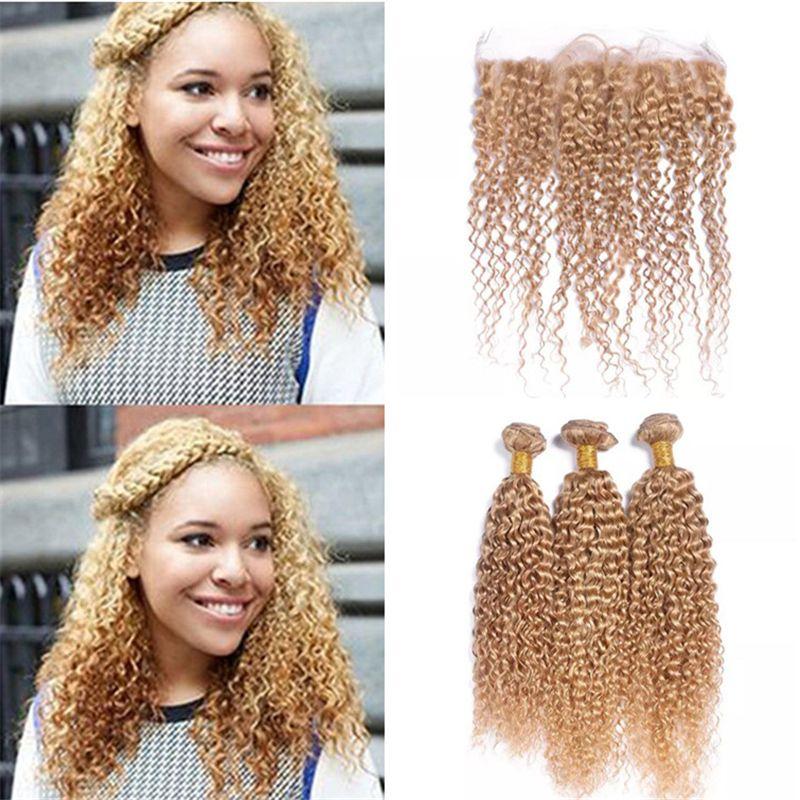 Couleur blonde cheveux boucles