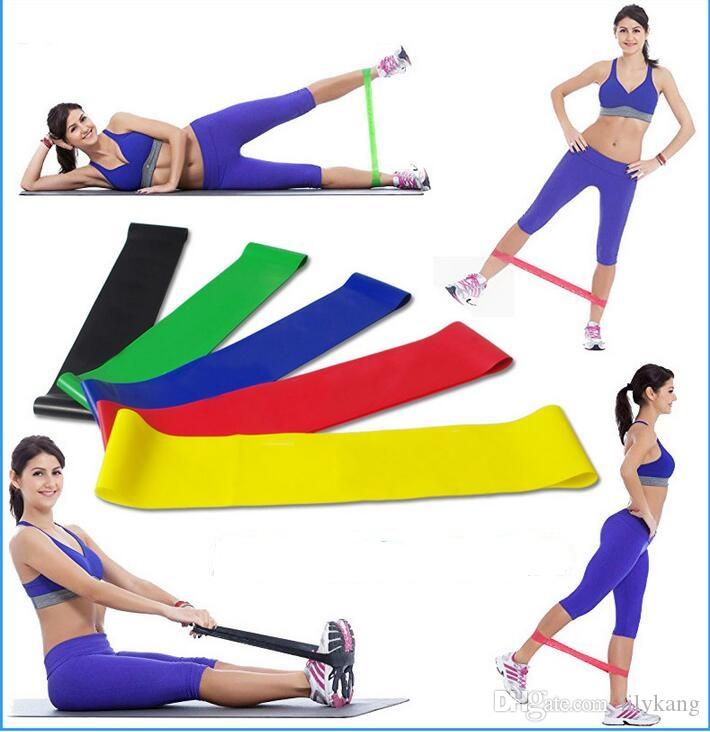 Latex Yoga Exercise Resistance Bands Fitness Equipment Stretch