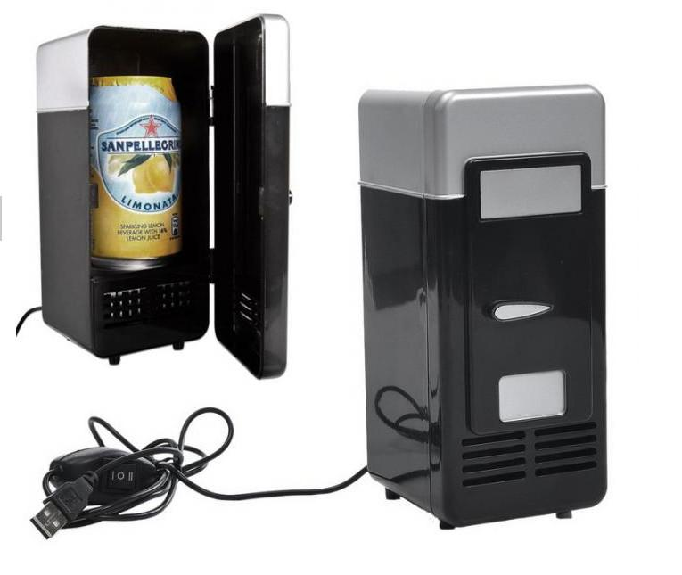 Mini USB Réfrigérateur Refroidisseur De Boisson Drink Cans Refroidisseur//chauffe-Mini Réfrigérateur