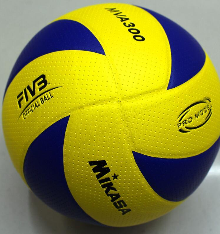 2017 Professional Competition Volleyball size 5 official Volleyball PU Soft Touch Standard Size MVA 300 volleyball, beach volleyball