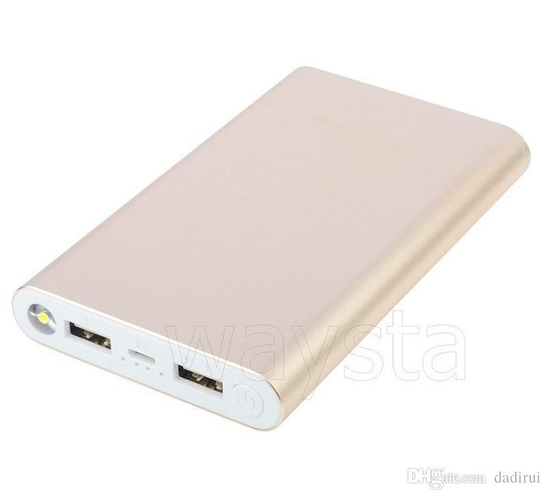 Powerbanks 2USB إخراج الهاتف البنوك والكهرباء 20000MAH المحمولة النسخ الاحتياطي الخارجية شاحن بطارية 8800mah العالمي (مصنع بالجملة، LOGO مخصص)