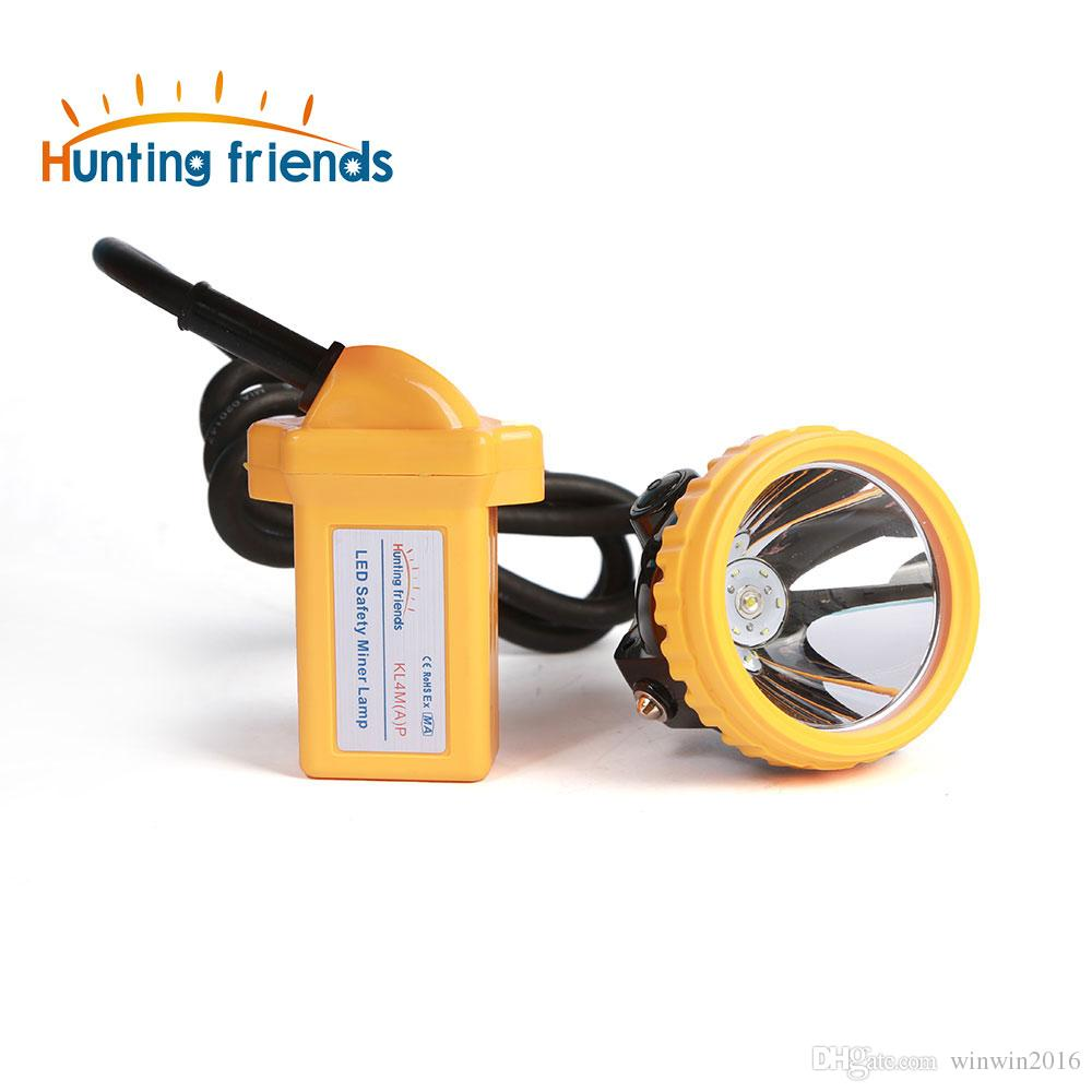 New Safety Miner Lamp KL4M(A).Plus Rechargeable Headlamp Explosion Rroof headlight Cap Lamp for outdoor soports