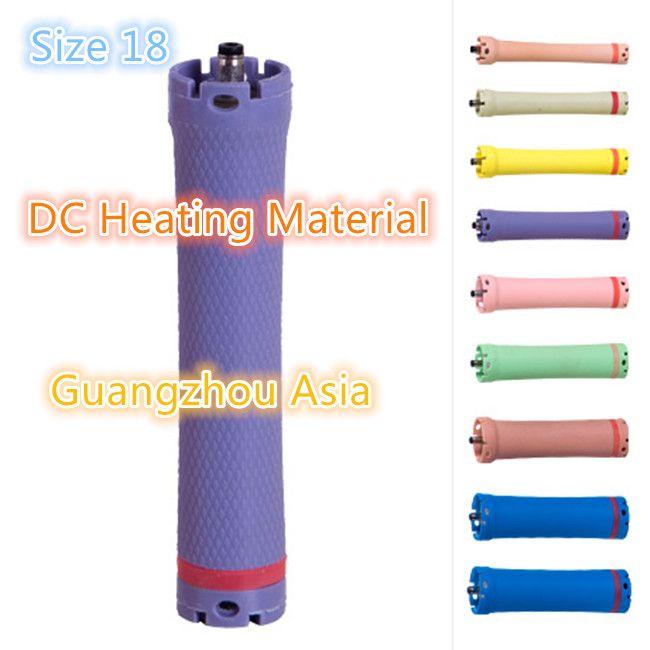 2017 heißer verkauf salon verwenden haare dauerwelle roller, stange, lockenwickler, DC material, wasserdicht, 36 V, größe 18