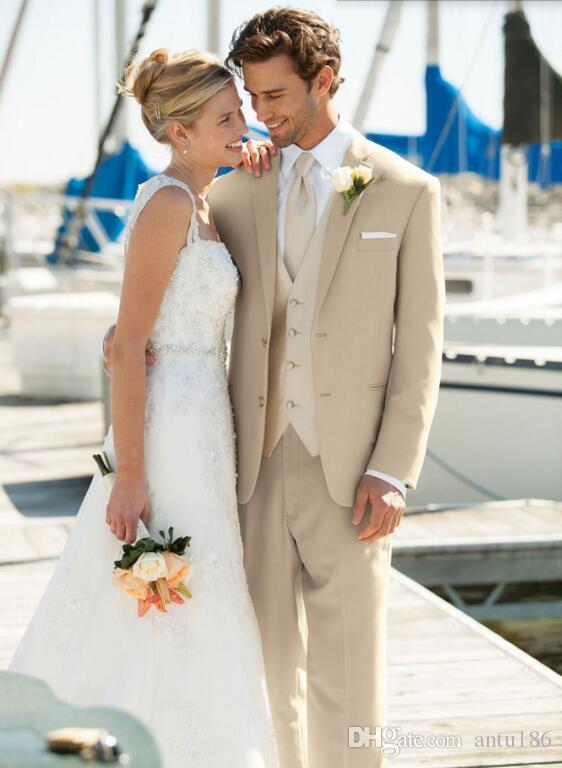 Yeni Geliş erkekler suit Custom made damat Düğün Takımları moda Groomsmen parti balo smokin Suits (Ceket + Pantolon + yelek)