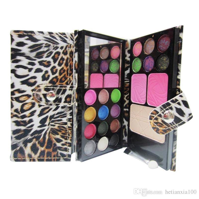 1 conjunto de 21 Cores Da Sombra Da Paleta Da Sombra de Olho Maquiagem Kit Set Make Up Professional Box