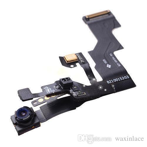 Замена передней камеры Облицовочной свет Датчик приближения лента Flex кабель микрофон в сборе для IPhone 6S Plus 6S бесплатной доставки