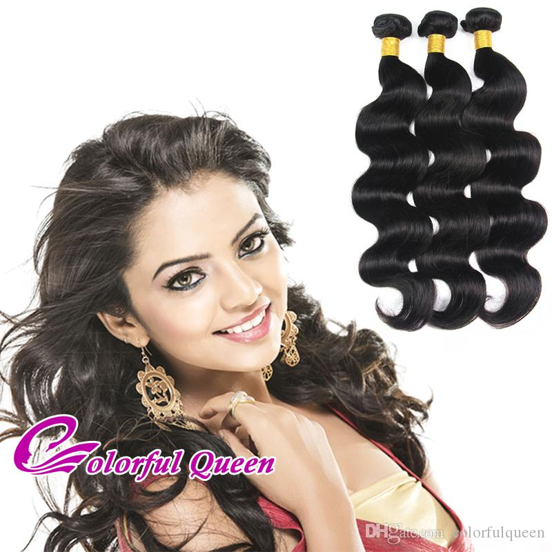 Cheap Malaysian Virgin Human Hair Bundles Weaves 4pcs 400g Straight Kinky Curly Body Wave Loose Wave Deep Wave Hair Extensions 8-26Inches