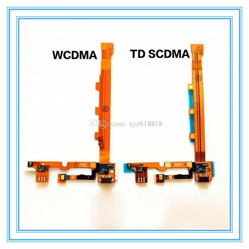 Nuove parti di ricambio per Xiaomi Mi3 Mi 3 M3 Dock USB Porta di ricarica + Microfono Microfono Scheda modulo Flex cavo a nastro WCDMA Spedizione gratuita