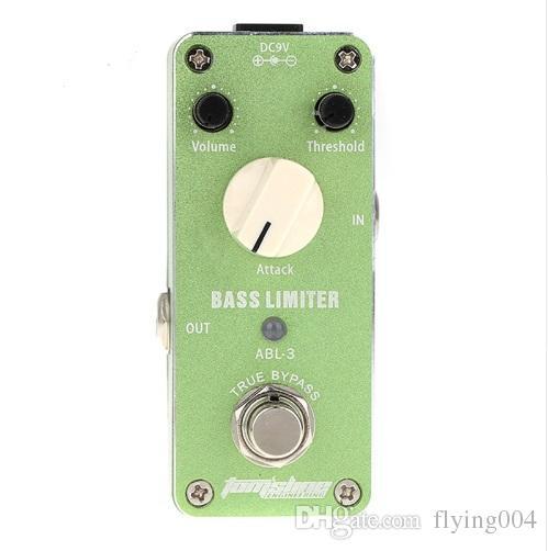 Ücretsiz kargo ABL-3 Bas Sınırlayıcı Gitar Etkisi DC9V Güç Kaynağı Aroma Pedalı Etkileri ABL3 CE ROHS gitar aksesuarları