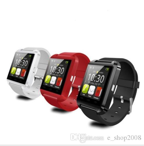 블루투스 Smart Watch U8 손목 시계 Smartwatch for iPhone 4 4S 5 5S 삼성 S4 S5 Note 2 참고 3 HTC 안드로이드 전화 스마트 폰 패션