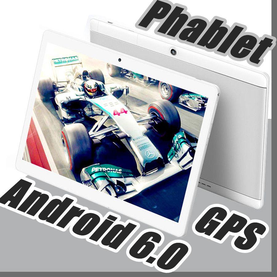 "2018 Hohe Qualität 10 Zoll MTK6572 MTK6582 IPS kapazitiver Touchscreen Dual-SIM 3G Tablet-Handy PC 10 ""Android 6.0 Octa Core 4 GB 64 GB G-10PB"